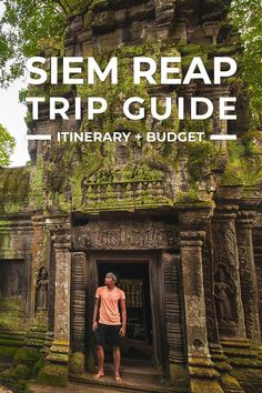 Siem Reap Trip Itinerary Guide for First-Timers... Here's a detailed Siem Reap travel guide with sample itinerary, budget, spots to visit, places to stay more. https://www.detourista.com/guide/siem-reap-trip/