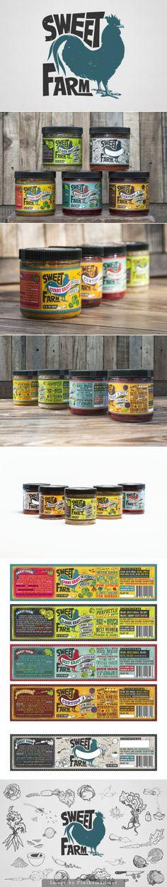 Sweet Farm - Label Design