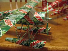 Aluminum Can Planes and Helos - PaperModelers.com