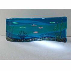 Image result for beachy fused glass