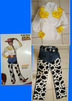 Jessie adult costume Toy Story... No sewing required DIY..