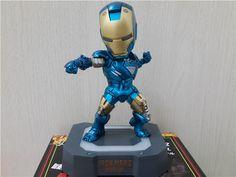 """Nova chegada Marvel Egg ataque homem de ferro 2 Mark 4 Action Figure Model Collection Toy 7.8 """" 19 cm azul 1 PCS em Ação e personagens de Brinquedos & Lazer no AliExpress.com   Alibaba Group"""