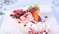 Completely smoked lobser, salted beet, meringue, Iberico Bellota. Come discover more from 26 - 30 November 2013 at The Reflexions