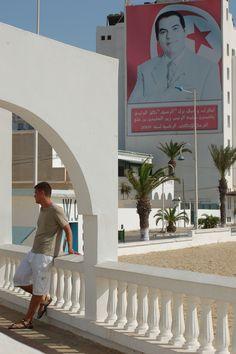 Tunis, Tunisia (B. Ali propaganda)