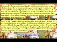Juicing - Juicing For Health - All About Juicing