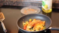 Spicy Tilapia fish in minutes recipe – All Recipes Food Cooking Network Tilapia Recipes, Spicy Recipes, Cooking Recipes, Cooking Network, Allrecipes, Seafood, Easy Meals, Fish, Sea Food