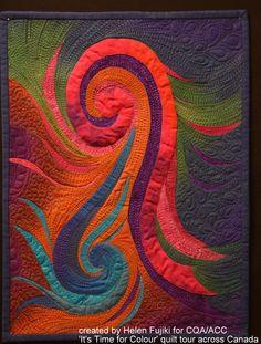 Helen Fujiki's 'Breaking Free' quilt