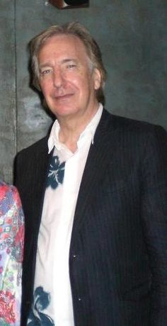 """September 5, 2006 - Alan Rickman at Hampstead screening of """"Snow Cake,"""" at which he participated in a question-and-answer session."""