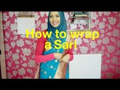 How to tie a Sari for modest coverage- Pearl Daisy