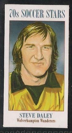 Wolverhampton Wanderers - Steve Daley - Football cards - Year 2003 - 70s Soccer Stars football cards