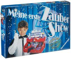 Ravensburger 21939 - Meine erste Zaubershow (Zauberkasten) Magic Birthday, Pop Tarts, Snack Recipes, Packaging, Ravensburger, Party, Kids, Magic Tricks, Toy