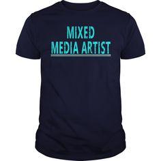 (Top Tshirt Discount) Mixed Media Artist [Tshirt design] Hoodies, Tee Shirts