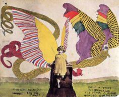 Henry Darger's Blengiglomenean Serpents