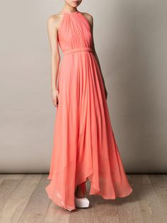 Langhem Mona Lisa coral maxi dress from swishclothing.com.au ...