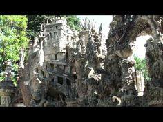 ▶ Le palais idéal du facteur Cheval (Drôme - France) - YouTube