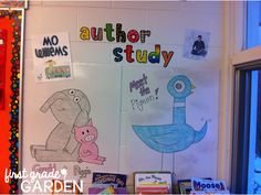First Grade Garden: Pigeon Party! Author Study Pack