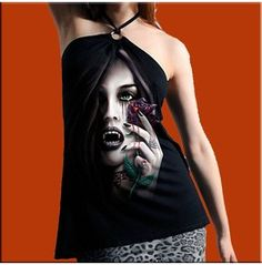 Gothic Printed Top