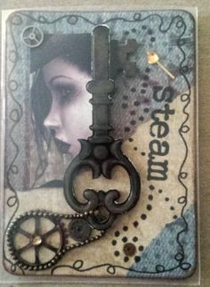 Artist Trading Card by Syn - Steampunk