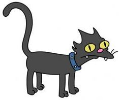 Looking for cartoon cat names? Here is a collection of famous cartoon cat names. The Simpsons Guy, Die Simpsons, Simpsons Art, Simpsons Drawings, Cartoon Drawings, Cartoon Pets, Simpsons Tattoo, Simpsons Characters, Cat Character