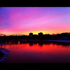 Amazing Sunrise - Saskatoon, Saskatchewan (I loved my visit here)