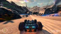 """GRIP (Rollcage): """"Industrial"""" track - Private Pre-Alpha Gameplay!"""