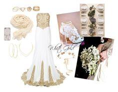 """Wedding CANOPUS"" by lovettaa on Polyvore featuring Jovani, Eugenia Kim, Lana and Martha Stewart"