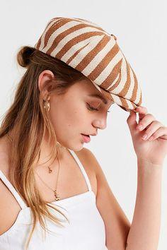 36a09ebd574 Slide View  1  Brixton Brood Snap Tan Stripe Cap Urban Style Outfits