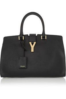 Cabas Chyc medium leather shopper by: Saint Laurent @Net-a-Porter (Global)