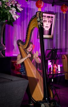 Harpist: Chinese New Year Party : February 2016
