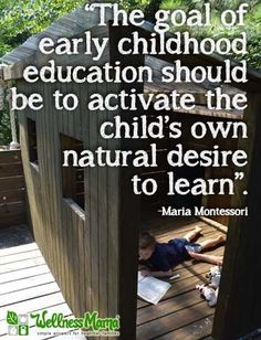 Activate the child's mind