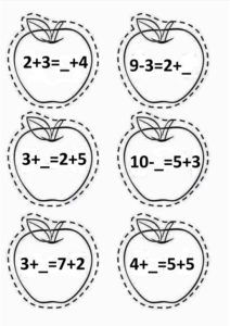 Adunarea și scăderea numerelor naturale până la 10 Preschool, Bullet Journal, Education, Ds, Infant Learning Activities, Kid Garden, Kindergarten, Onderwijs, Learning