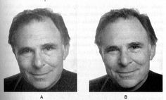 "real smile right, social smile left - paul ekman ""emotions revealed"""