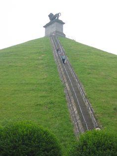 Lion's Mound, Waterloo, Belgium
