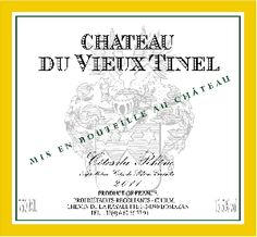 Chateau du Vieux Tinel #CotesduRhone #White Varietal:  80% Grenache 20% Roussanne  Color:  Light golden straw  Bouquet:  #Acacia flowers, #honey suckle, white peach and apricot, hint of anise.  Taste:  Complex, with good acidity, a wonderful glycerin texture ending with a balanced finish.  #Food #Pairing: #Fish, white meats, creamy sauces, and cheeses.