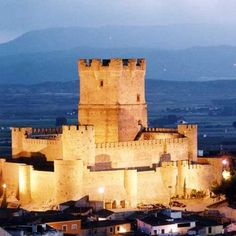 Spain Travel - Castillo de Villena, Alicante - Spain