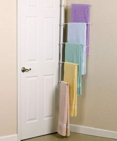 Great idea!  This might prevent towels from ending up on the floor!