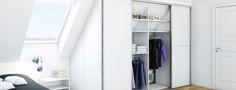 garderobeskabe skråvæg - Google-søgning