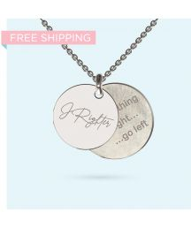 Engrave a personalised and meaningful message on this unique pendant made from precious metals. The message is yours, partially obscured by a beautifully designed pendant, making it an ideal conversation piece - It's your secret message, Wheel Of Life, Pendant Design, Gift Vouchers, Precious Metals, Dog Tag Necklace, Initials, Bloom, Pendants, Messages