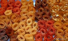 Homemade fruit roll ups.  There's general instructions, a video and a recipe for Apple and Pumpkin Pie fruit leather. http://www.gettystewart.com/how-to-make-homemade-fruit-roll-ups-pumpkin-and-apple-pie-flavor/