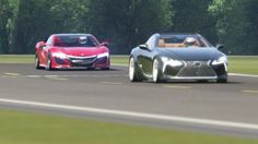 Nice Acura 2017: Battle Honda NSX '15 vs Lexus LC500 '17 at Top Gear... Check more at http://cars24.top/2017/acura-2017-battle-honda-nsx-15-vs-lexus-lc500-17-at-top-gear/