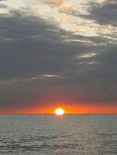 Simpson Bay sunset. St Maarten