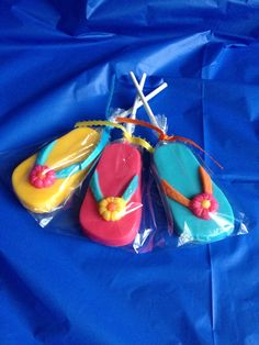 24 FLIP FLOP Chocolate Lollipops Party Favors Luau Hawaiian Birthday Retirement  on Etsy, $38.00