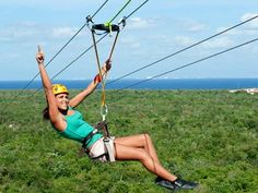 ziplining | But that's not all!