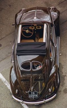 Early [very cool] Volkswagen Beetle Auto Design, Carros Vw, Auto Volkswagen, Kdf Wagen, Auto Retro, Retro Cars, Vw Cars, Vw Beetles, Amazing Cars