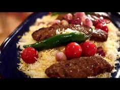 الشيف الايراني علي حقيقي يطبخ كباب كوبيده جزء 1 Roya l - YouTube