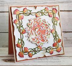 Designs by Marisa: Tonic Studios - Poppy Hideaway Card  Need to get this die