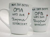 ♥ Tasse  ♥ für die Oma , die Uroma wird ♥  Omi