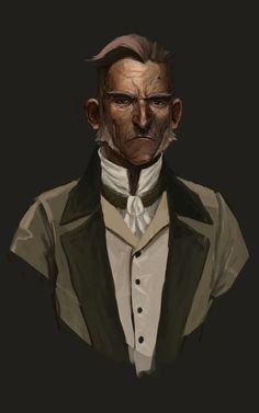 ArtStation - Old Aristocrat, Guillaume Bougeard