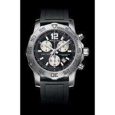 http://www.horloger-paris.com/fr/2771-breitling   Breitling Colt Chronographe II Acier La superbe montre pour homme Breitling Colt Chronographe II est animée du très fiable mouvement calibre SuperQuartz Breitling 73, d'une ...