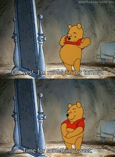 I will say this from now on whenever I am hungry hahaha I love Winnie the Pooh cartoon childhood delightful disney Disney Pixar, Disney And Dreamworks, Disney Characters, Pooh Winnie, Winnie The Pooh Quotes, Winnie The Pooh Honey, Pooh Bear, Tigger, Eeyore